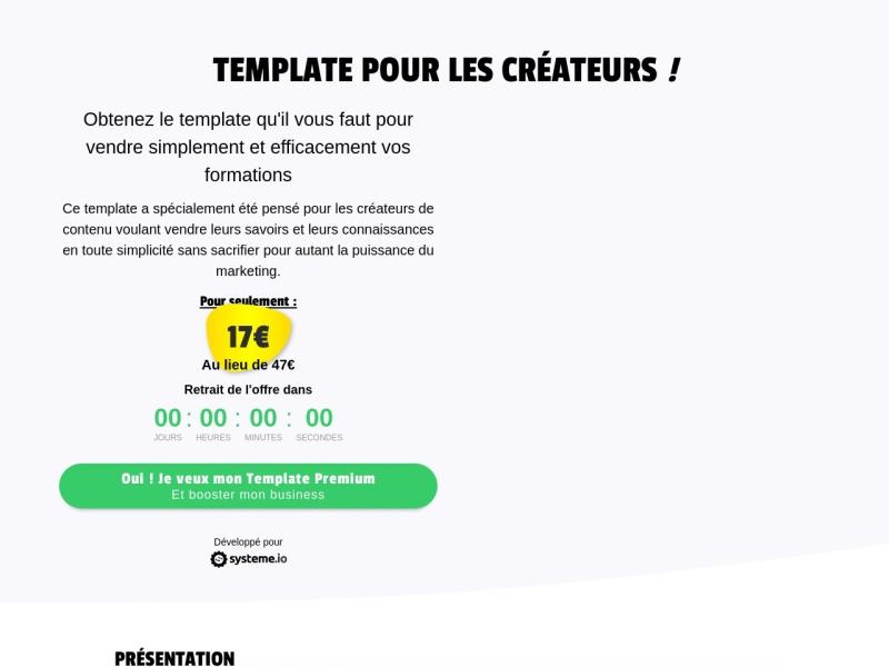 sio designs - template createurs