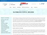 Buy Bathroom Towel | Napkin Holder for wash basin at affordable price in India