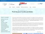 Buy Wall Mounted Toothbrush Holder Online at Low Price  Damje