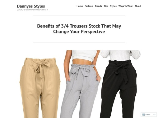 Best 3/4 Trousers For Women- Wholesale 3/4 Trousers Supplier