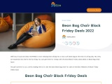 bean bag chair black friday-Exclusive guide