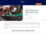 black friday pool table-Exclusive guide