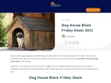 dog house black friday-Exclusive guide