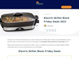 electric skillet black friday-Exclusive guide