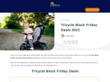 tricycle black friday-Exclusive guide