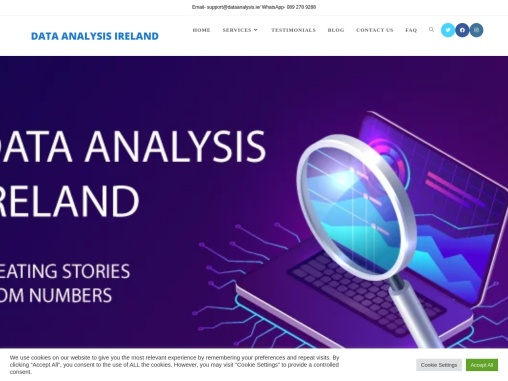Data Analysis Ireland : Best data analysis Company in Ireland