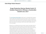 Surge Protection Devices Market Covid-19 Analysis Expected to Witness a Sustainable Growth over 2027