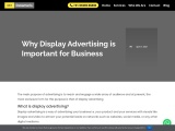 Why Display Advertising is Important for Business
