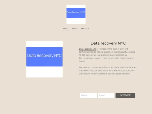 Data recovery NYC on Strikingly