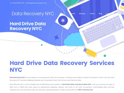 Secure for Data Recovery Service in NYC