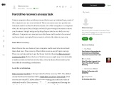 Hard drive recovery an easy task