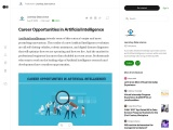 Career Opportunities in Artificial Intelligence