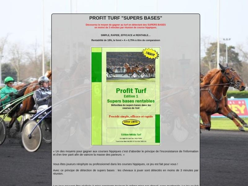 profit turf supers bases