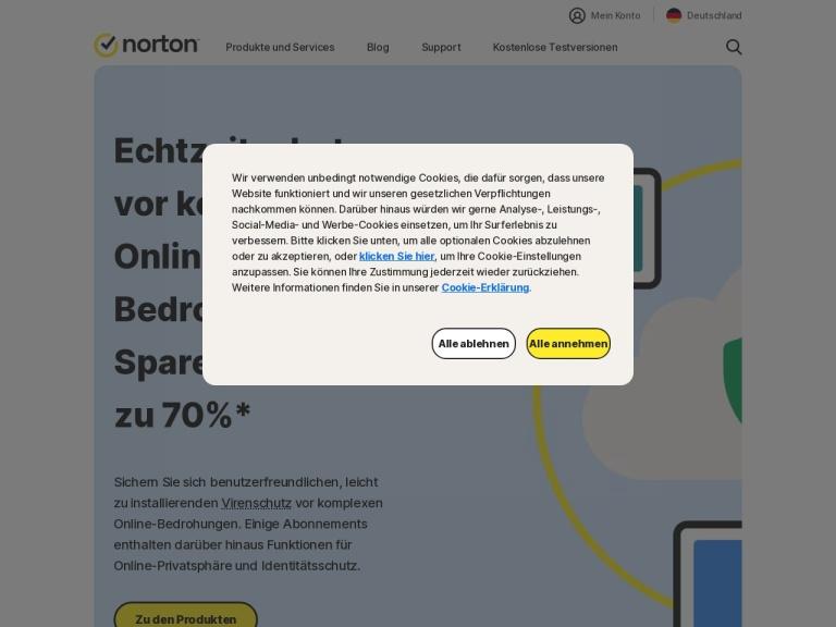 Norton Germany screenshot