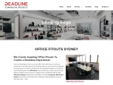 Professional Office Fitout Sydney – Deadline Commercial Projects