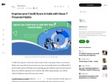 Improve your Credit Score in India with these 7 Financial Habits