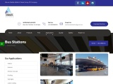 Bus Stations  Stainless Steel U Channel / Profile   Sterlite Metal And Tubes Services
