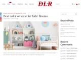 Best color scheme for Kids' Rooms – Decor La Rouge – Interior Design agency