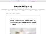 Best Buying Design For Your Bedroom With Color Scheme | Decor La rouge | Interior design Agency