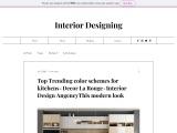 Best 20 Trending Color Schemes for Kitchens – Interior design Agency – Decor La Rouge