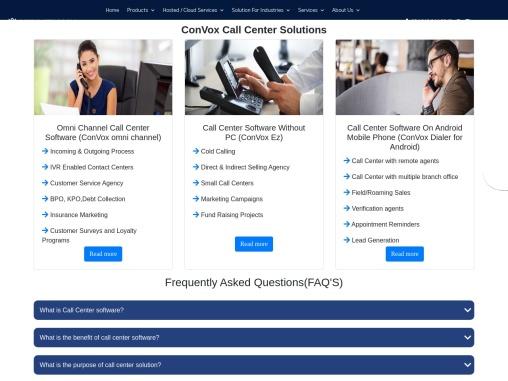Call Center Solution | Inbound Outbound Call Center Solutions | Call Center Solutions