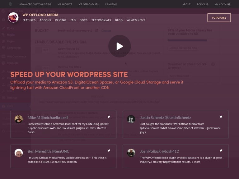 WP Offload Media Coupon Codes screenshot