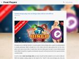 Games always play new uk bingo sites online and offline