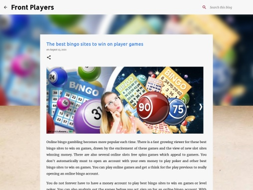 The best bingo sites to win on player games