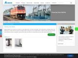 Railway Power solutions – Delta Electronics India