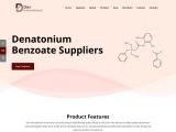 Leading Manufacturer, Supplier & Exporter of Denatonium Benzoates
