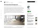 3D Product Rendering Backgrounds