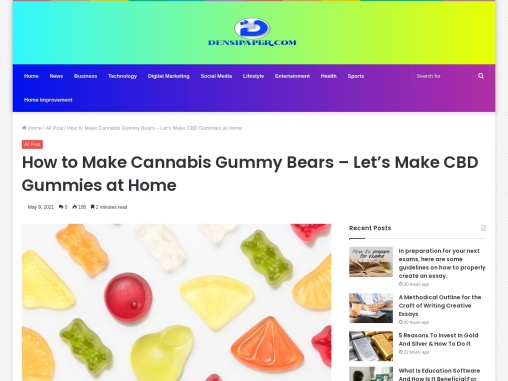 The Easiest Way To Make CBD Gummies At Home