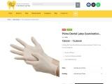 Prime dental latex examination gloves