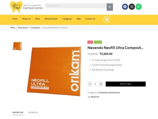 Neoendo Neofill Ultra Composite kit