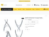 Zenith Extraction forceps kit pedo