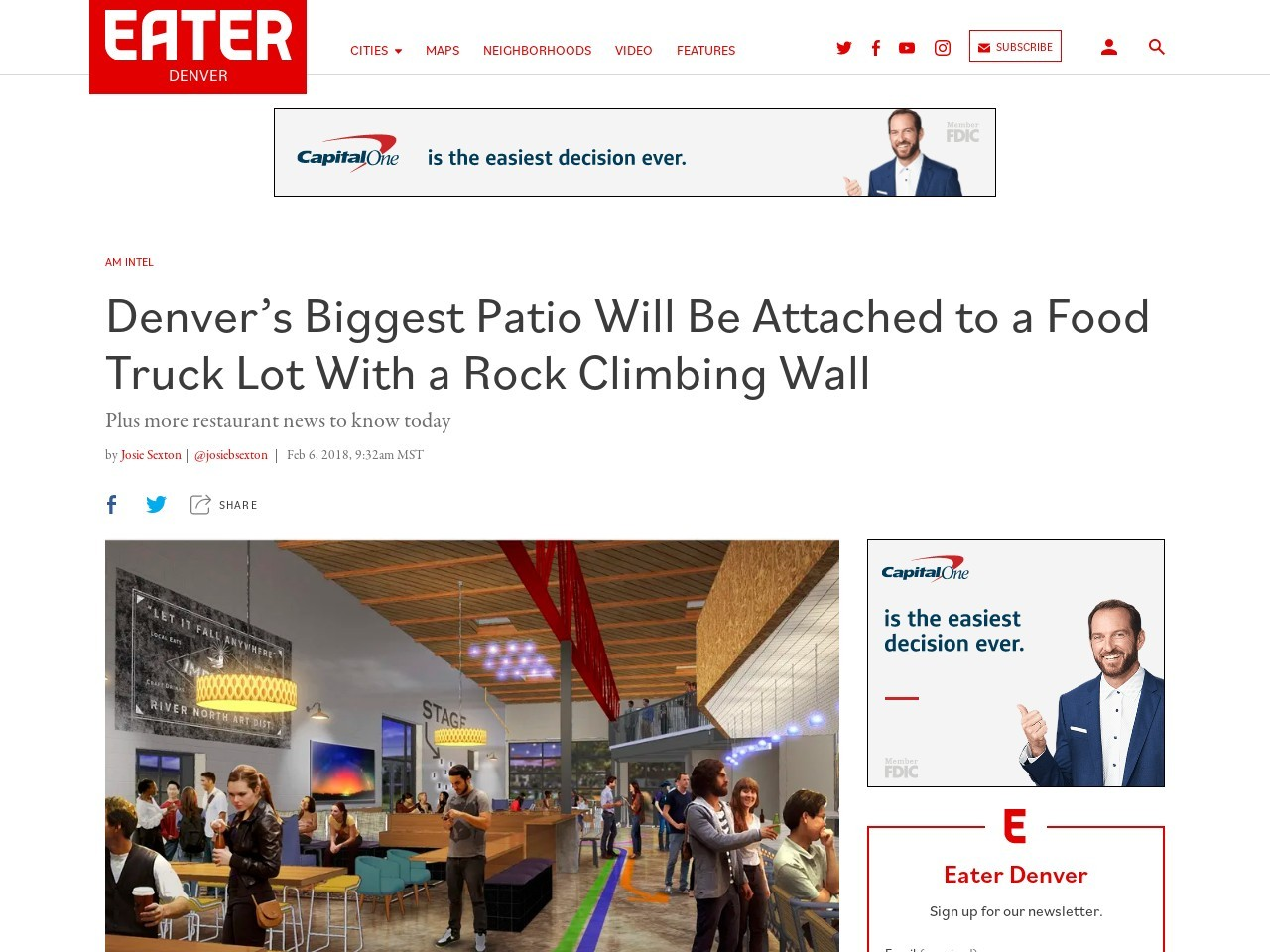 Denver's Biggest Patio Will Be Attached to a Food Truck Lot With a…