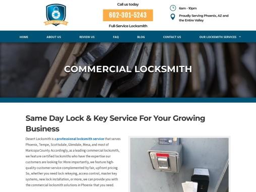 Commercial Locksmith Services | Desert Locksmith Az