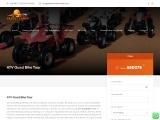 Book ATV Quad Bike Tour – Quad Biking Dubai ATV Tour in 2021
