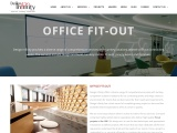 Office fit-out Interior Design Companies in Dubai & Abu Dhabi, UAE – Design Infinity
