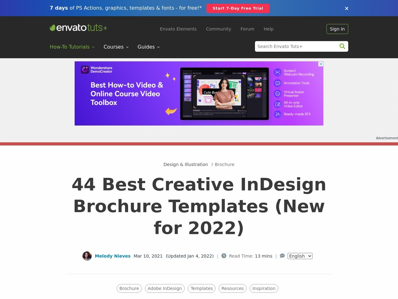 42 Best Creative InDesign Brochure Templates (New for 2019)