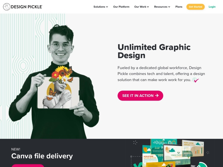 Design Pickle Coupons July 2020 screenshot