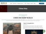 China visa   China visa for Indians    Visa for China    China  visa agent in delhi