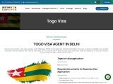 Togo visa | Togo  visa for Indians | Visa for Togo | Togo visa agent in delhi