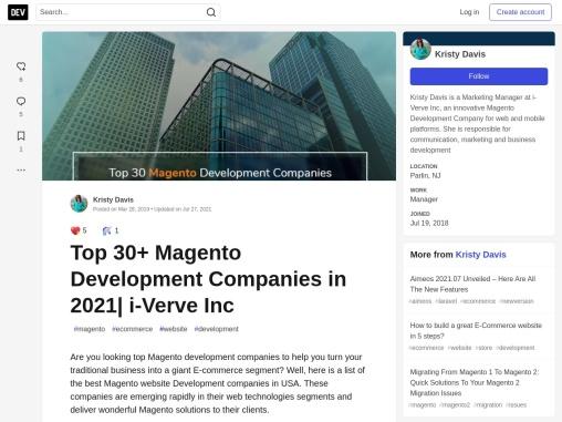 Top 30+ Magento Development Companies in 2021