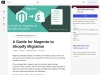 A Guide for Magento to Shopify Migration
