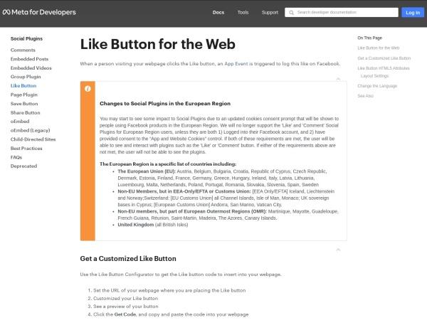 https://developers.facebook.com/docs/plugins/like-button