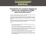 CHANGEMENT RADICAL