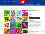Buy Posters For Kids Bedrooms| Defender of doesville Animated Posters