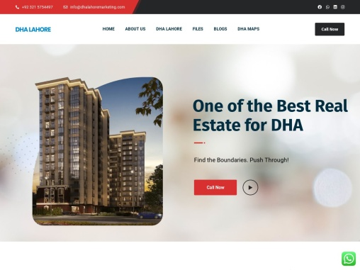 Future Projects Of DHA Lahore