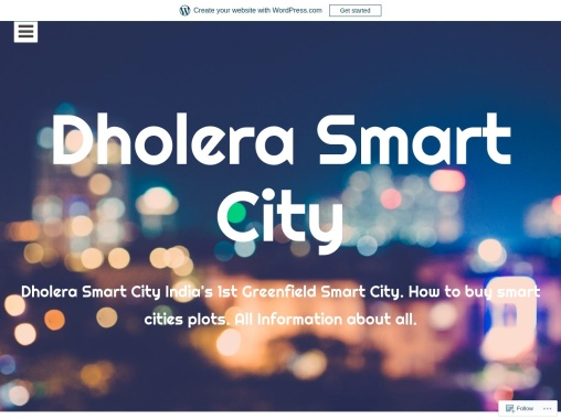 Dholera SIR shall Lead India's Smart City Project By Smart Homes Dholera